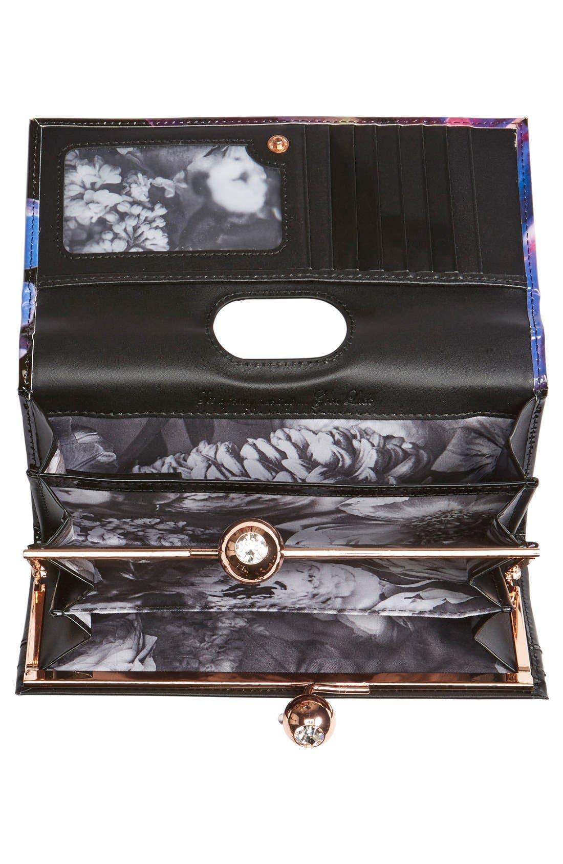 Alternate Image 2  - Ted Baker London 'Cosmic Bloom' Matinee Wallet