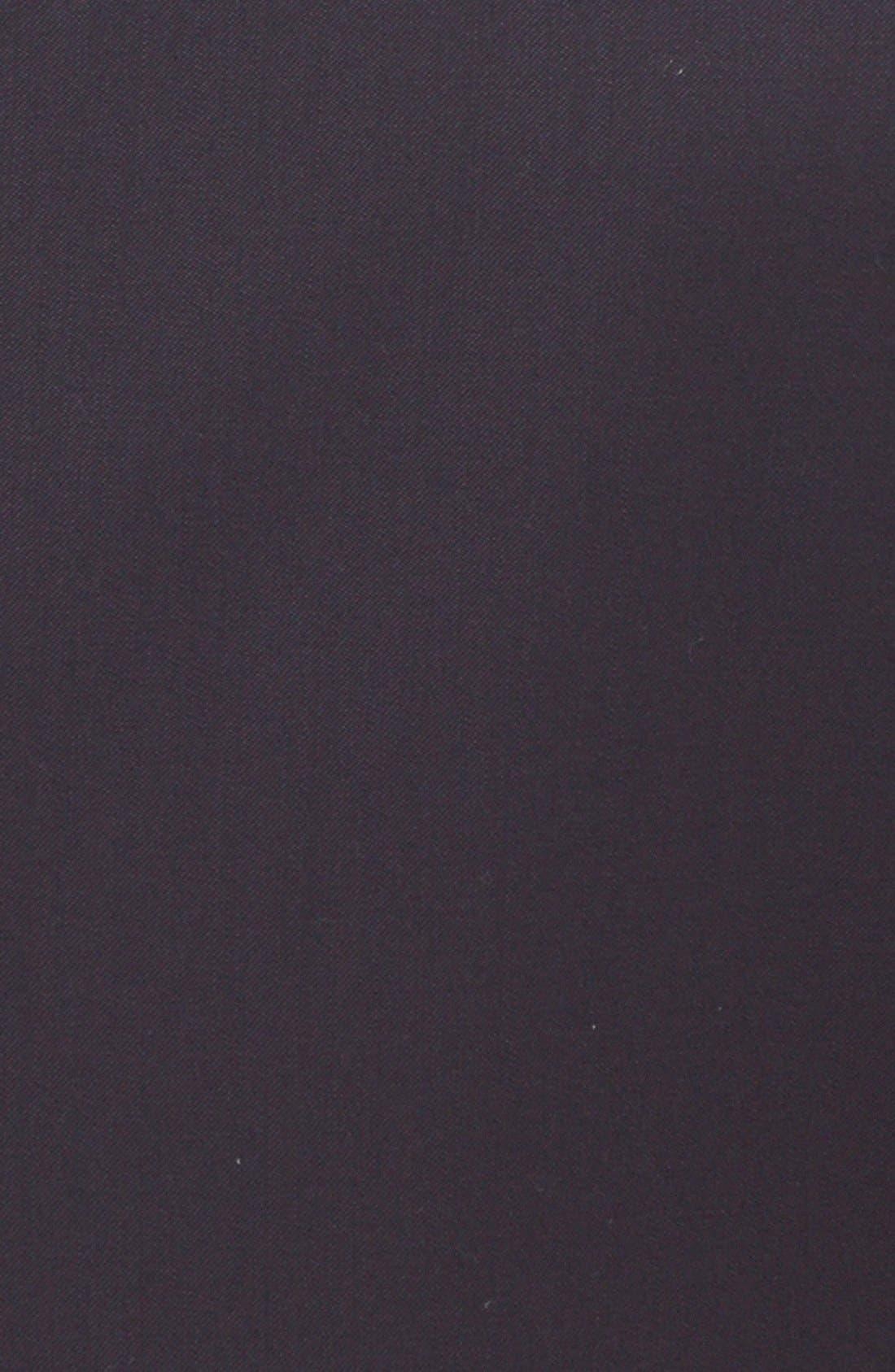 Alternate Image 8  - Armani Collezioni'G-Line' Trim Fit Solid Wool Suit