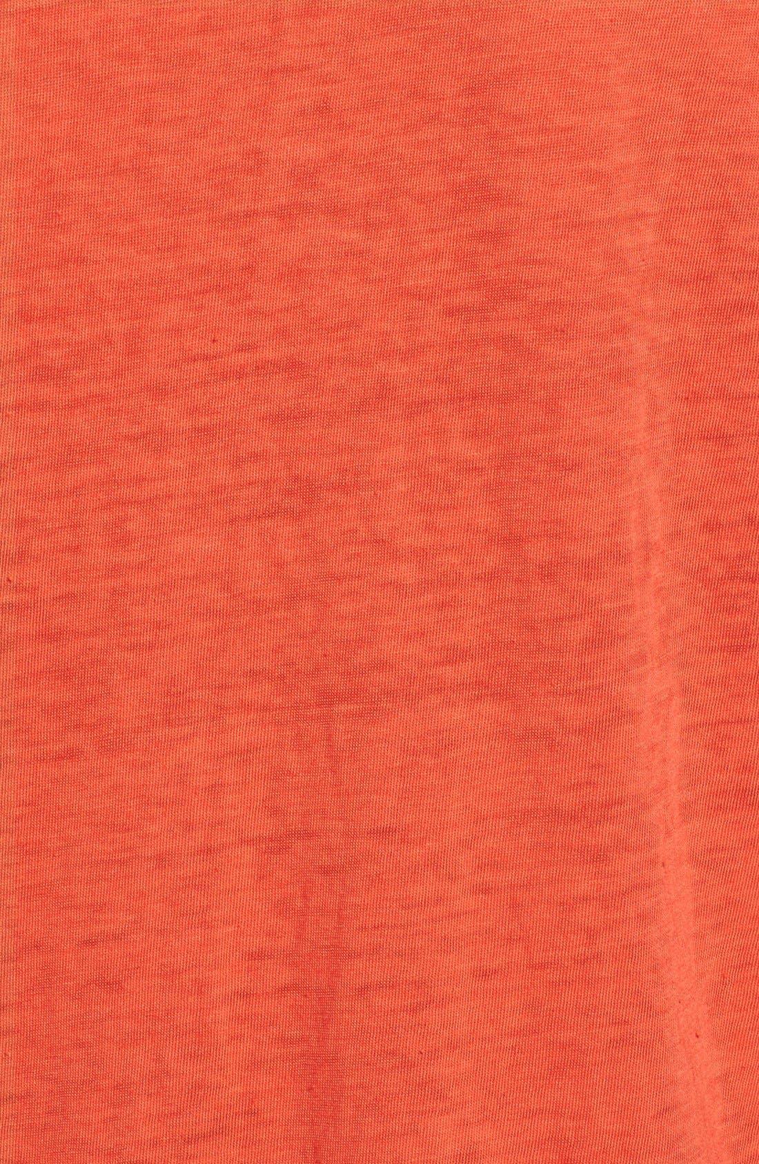 Alternate Image 5  - Pam & Gela 'Kate' Burnout V-Neck Muscle Tee