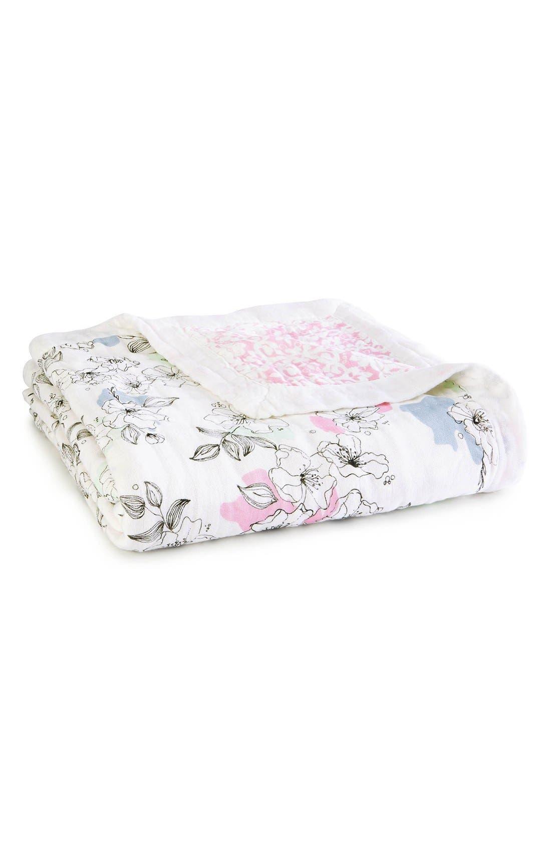 'Silky Soft Dream' Blanket,                         Main,                         color, Grey