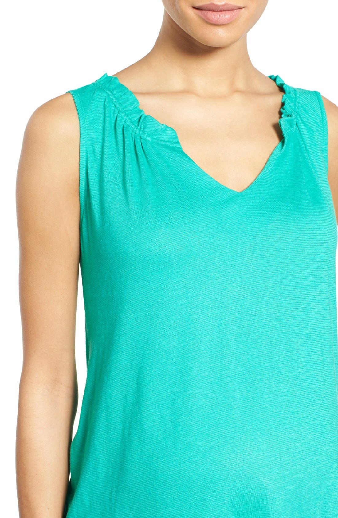 'Caitlin' Maternity Top,                             Alternate thumbnail 4, color,                             Green