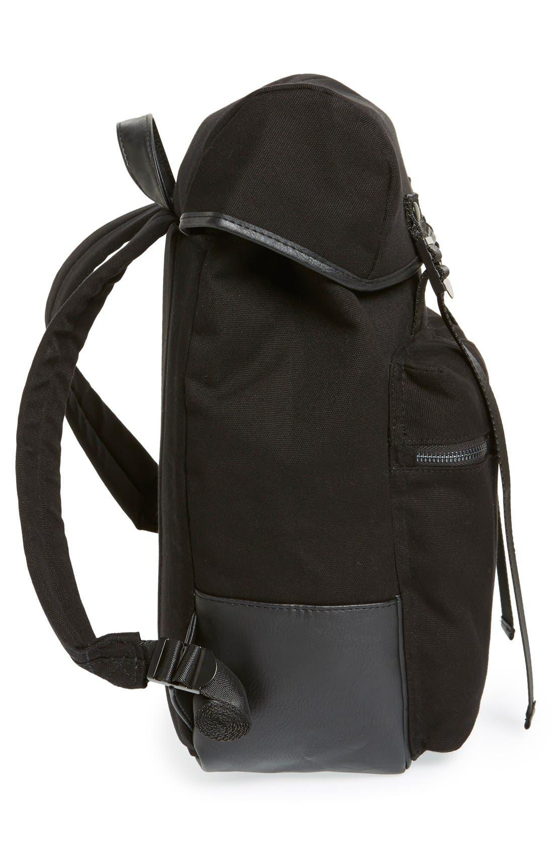 Alternate Image 5  - Topman Canvas Backpack