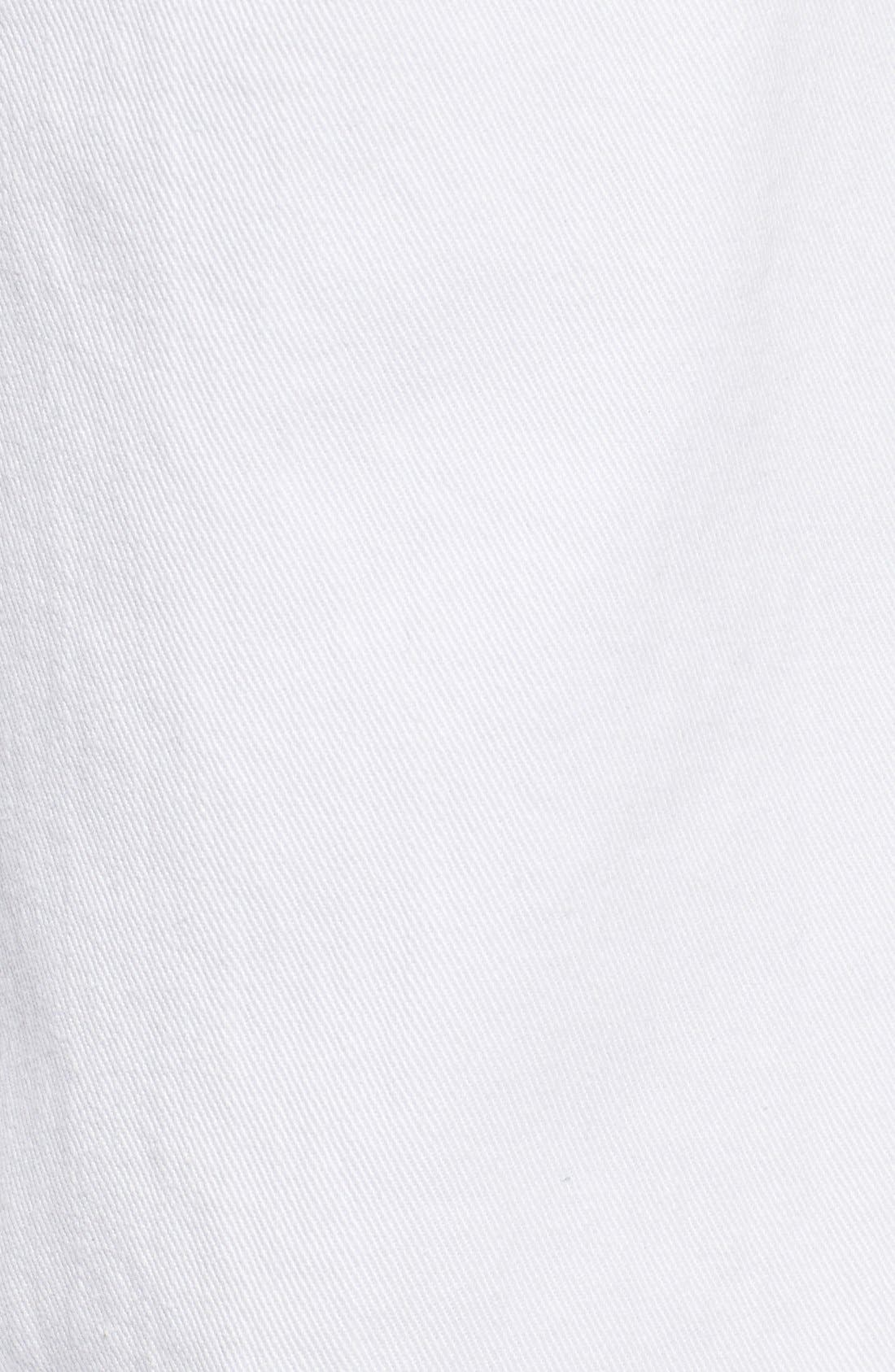 'Libby' Wide Leg Sailor Jeans,                             Alternate thumbnail 5, color,                             White2