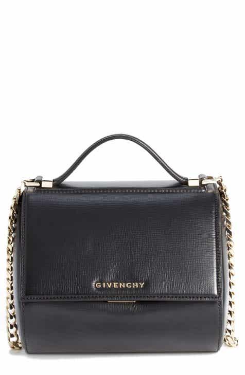 Givenchy Mini Pandora Box Palma Leather Shoulder Bag