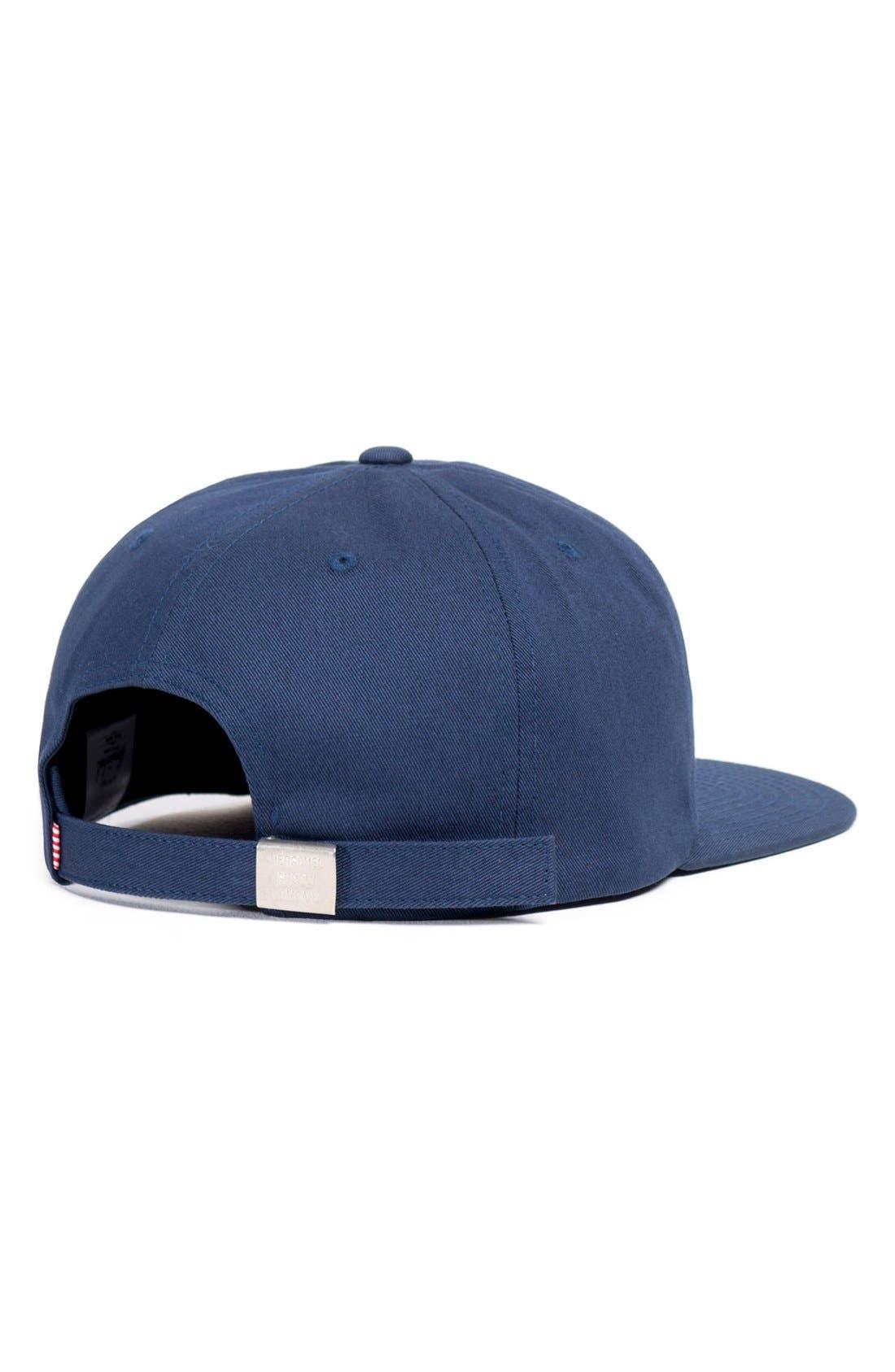 Alternate Image 4  - Herschel Supply Co. 'Albert' Cotton Baseball Cap