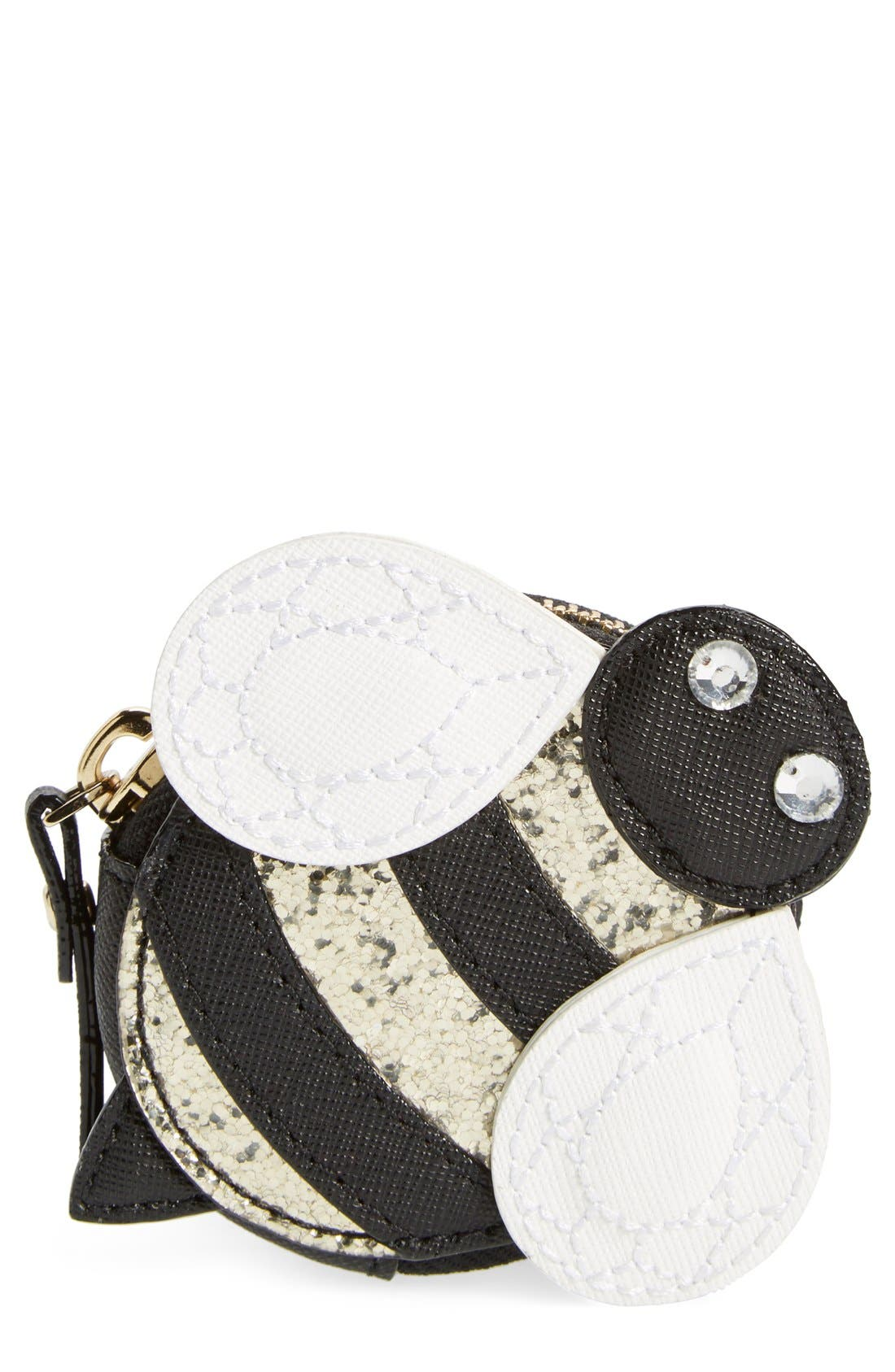 Main Image - kate spade new york 'bee' leather coin purse