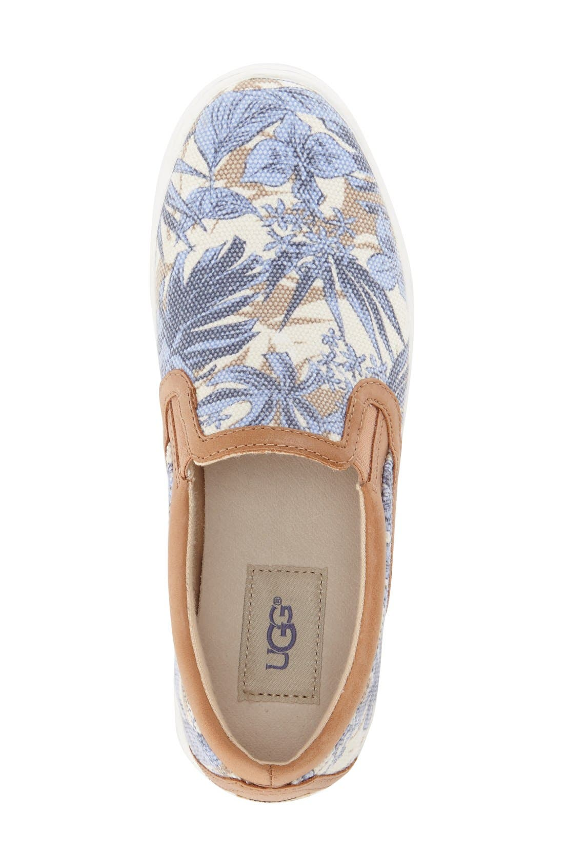 Alternate Image 3  - UGG® 'Fierce - Island Floral' Slip-On Sneaker (Women)