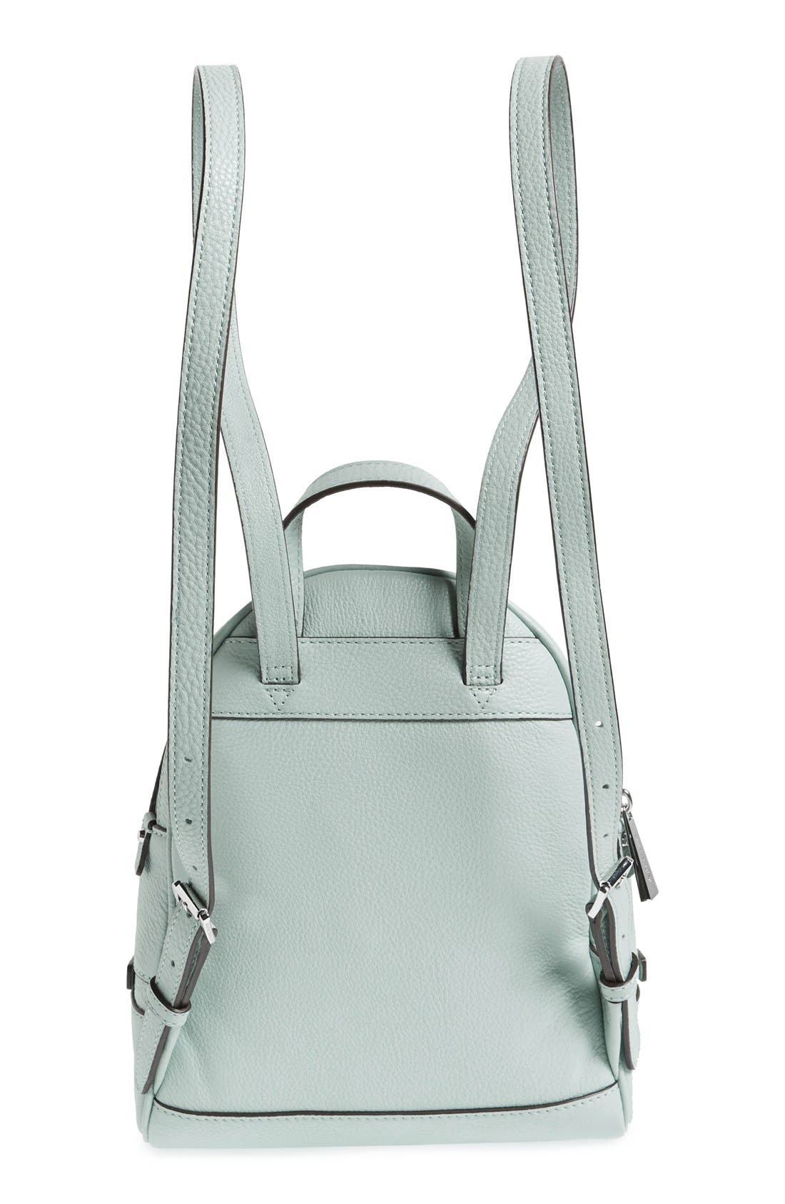 Alternate Image 3  - MICHAEL Michael Kors 'Extra Small Rhea' Leather Backpack