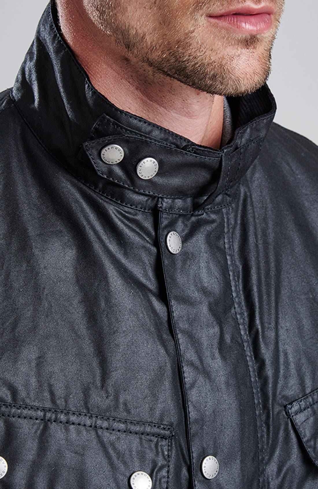 Alternate Image 8  - Barbour 'Duke' Regular Fit Waterproof Waxed Cotton Jacket