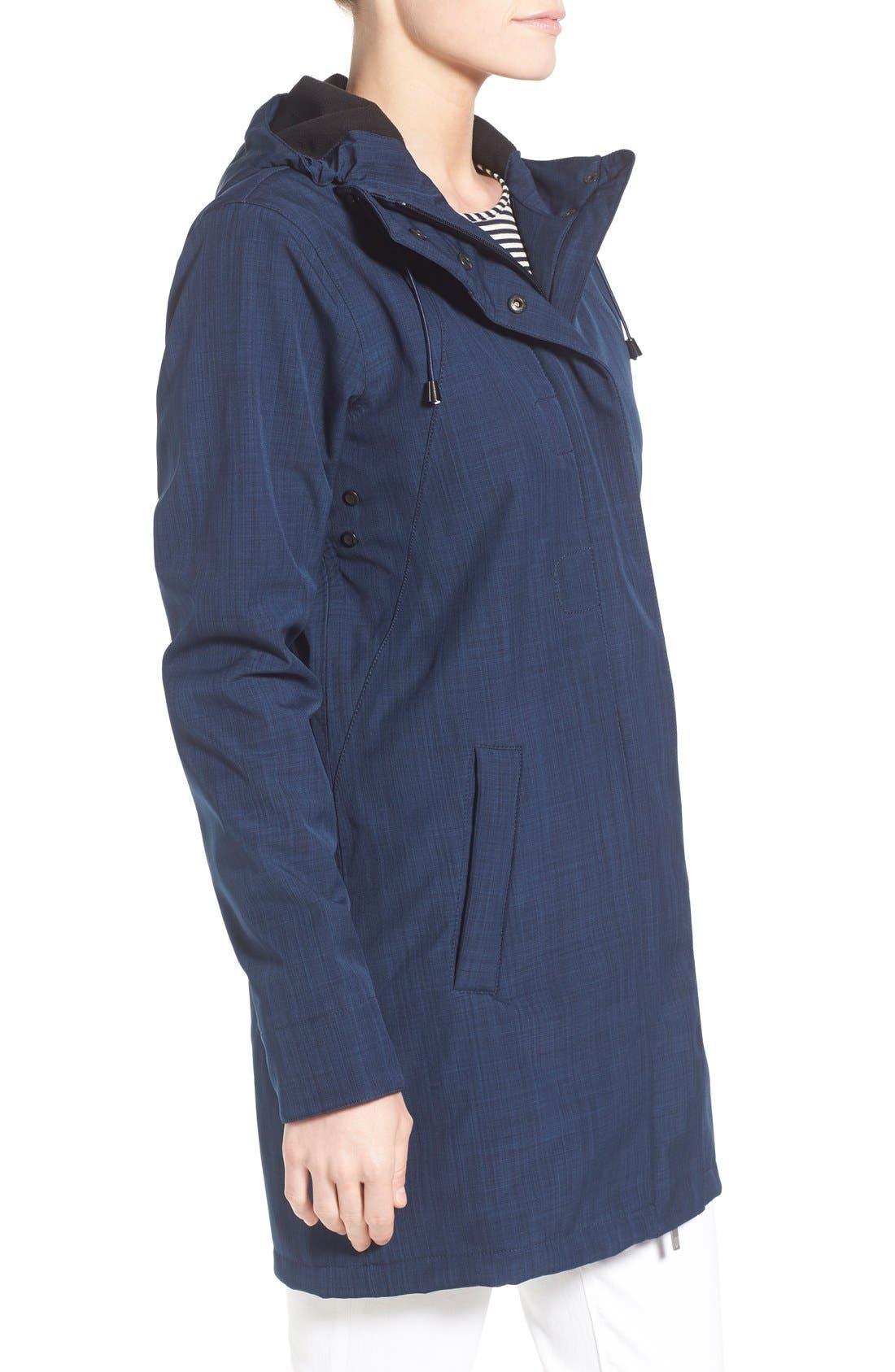 Alternate Image 3  - Ilse Jacobsen Hooded Raincoat