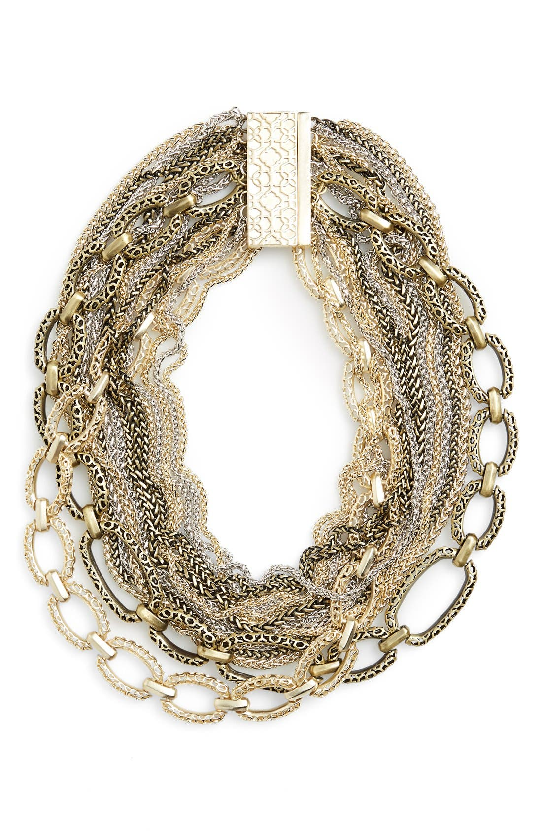 Alternate Image 1 Selected - Kendra Scott 'Marci' Mulistrand Collar Necklace