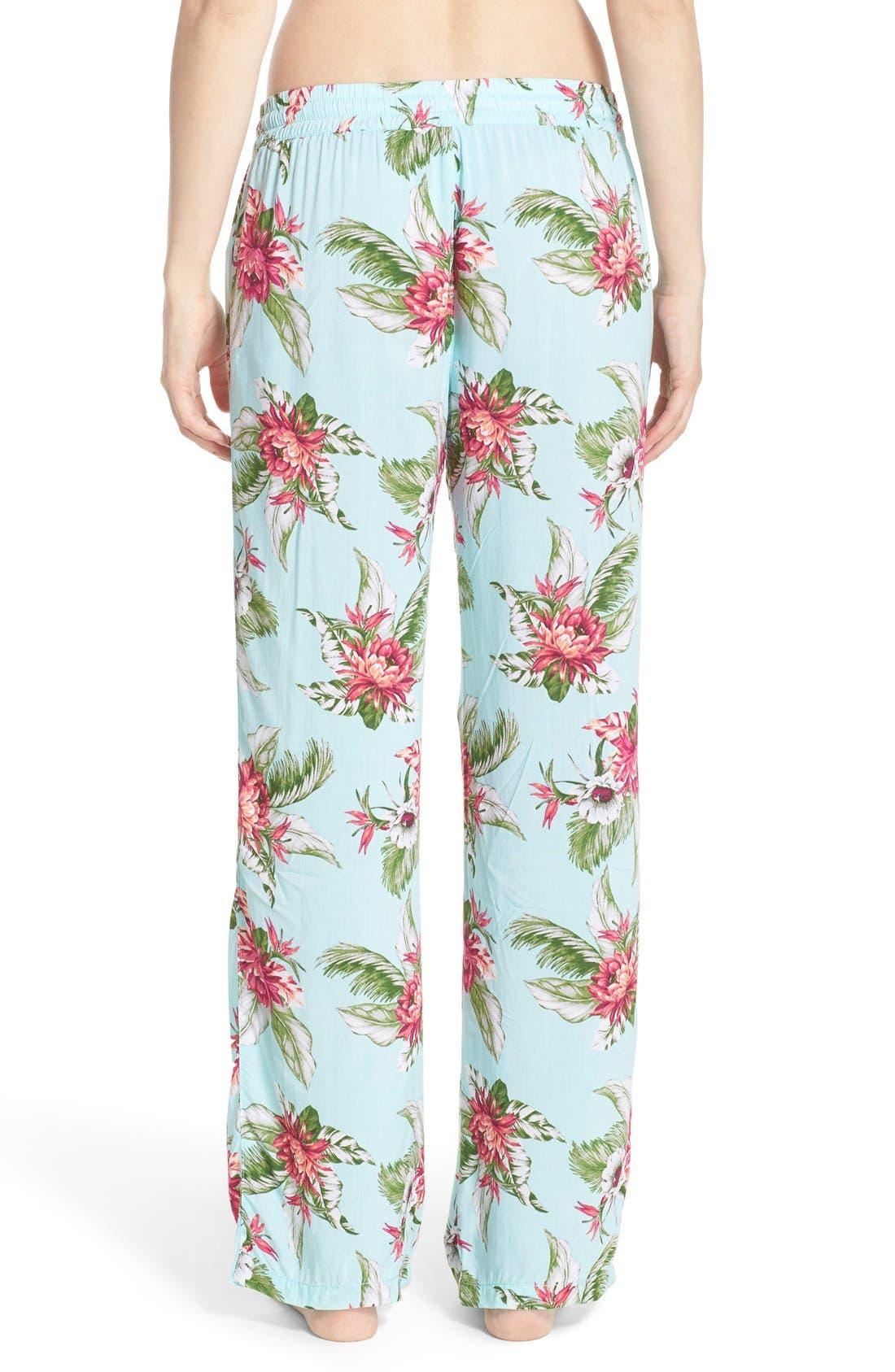 Alternate Image 2  - PJ Salvage Print Pajama Pants