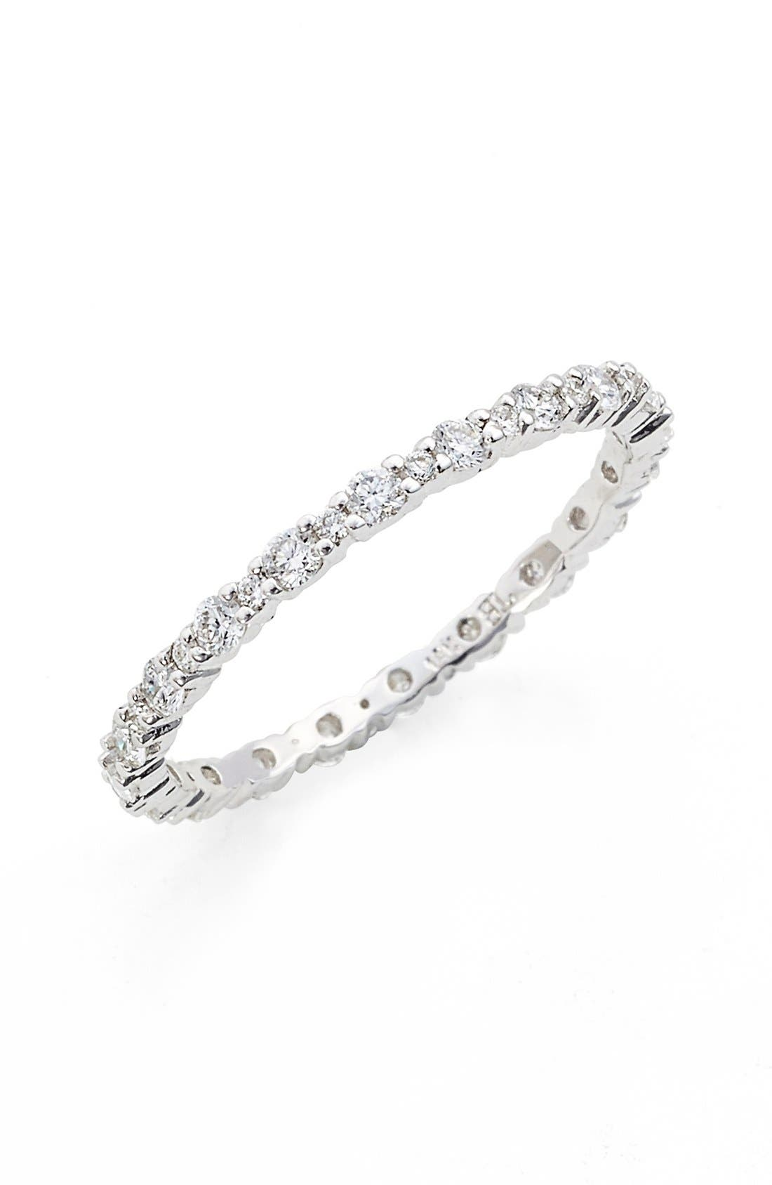Bony Levy 'Gianna' Diamond Eternity Ring (Nordstrom Exclusive)