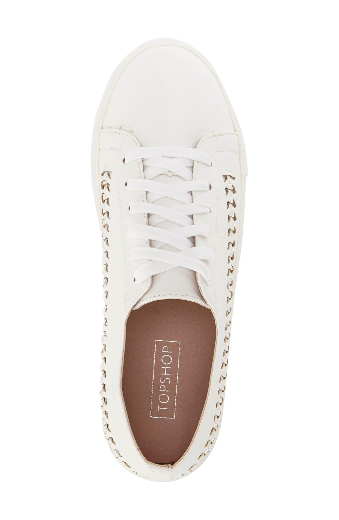 Alternate Image 3  - Topshop 'Conner Plait' Sneaker (Women)