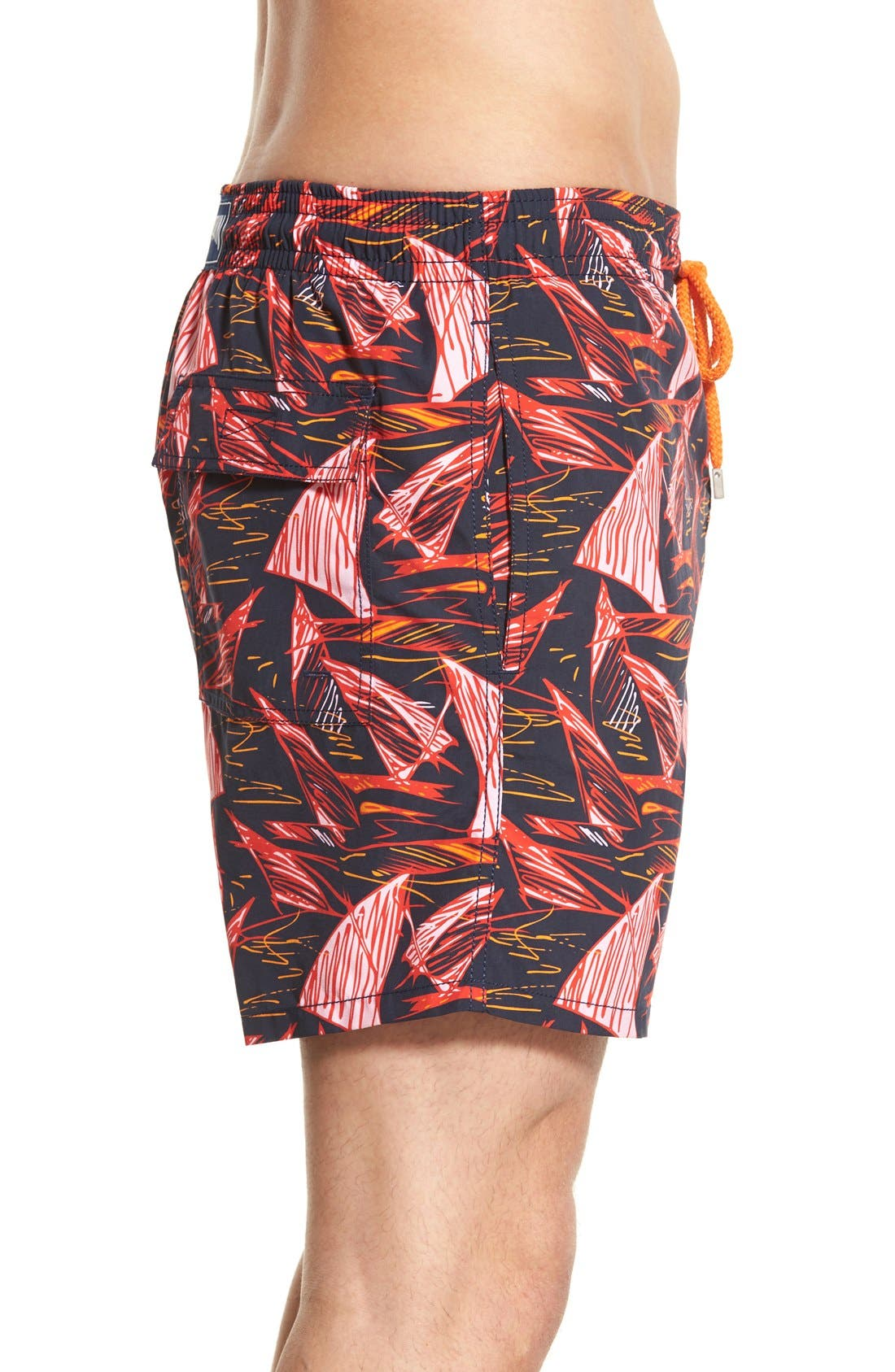 Alternate Image 3  - Vilebrequin 'Moorea' Print Swim Trunks