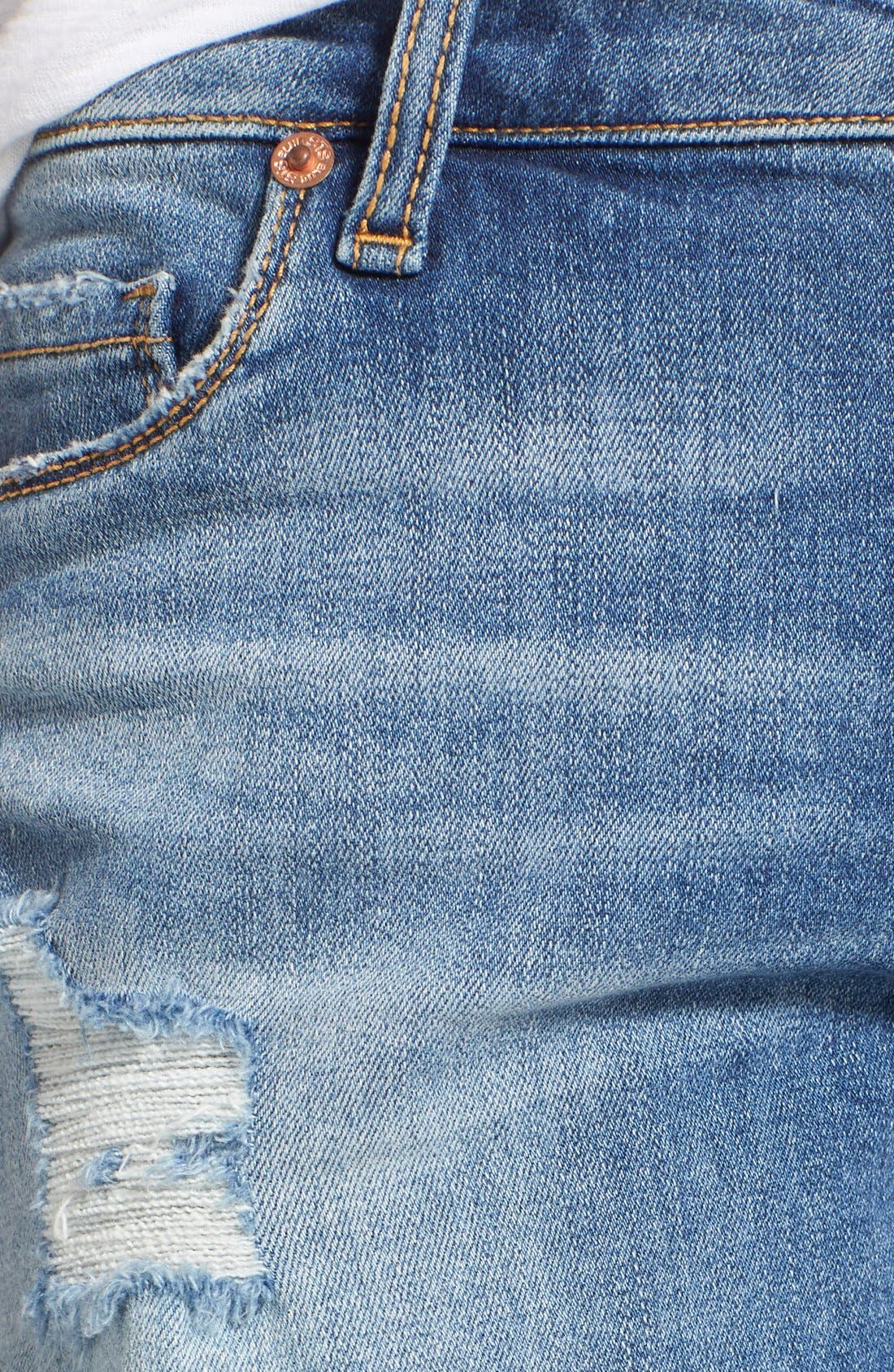 Alternate Image 5  - STS Blue Distressed Cutoff Denim Shorts