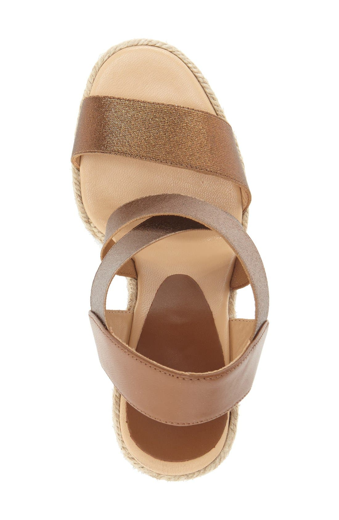 Alternate Image 3  - André Assous 'Cassandra' Wedge Sandal (Women)