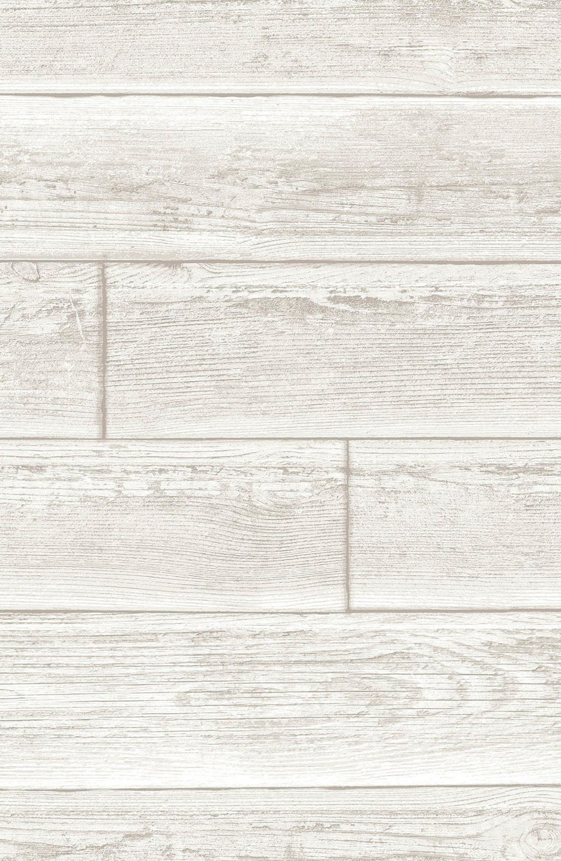 Serene  Peel & Stick Vinyl Wallpaper,                         Main,                         color, Grey - Serene Cream