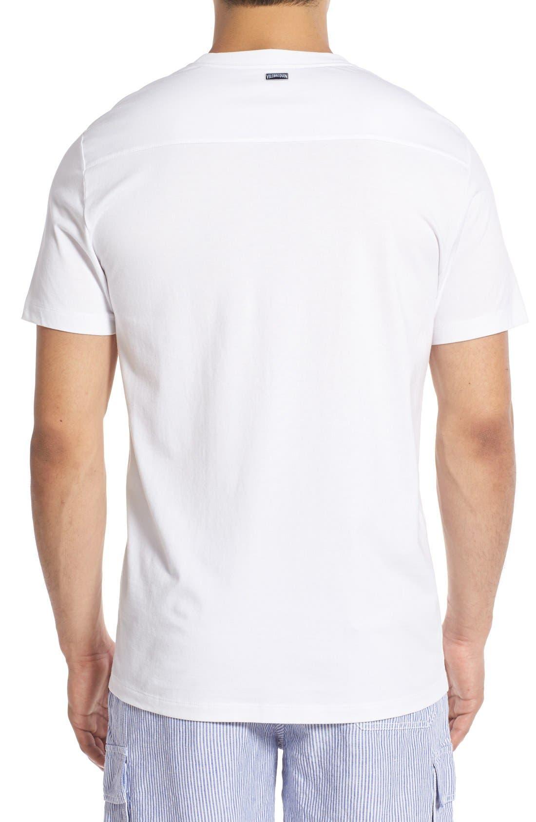 Alternate Image 2  - Vilebrequin Pocket T-Shirt