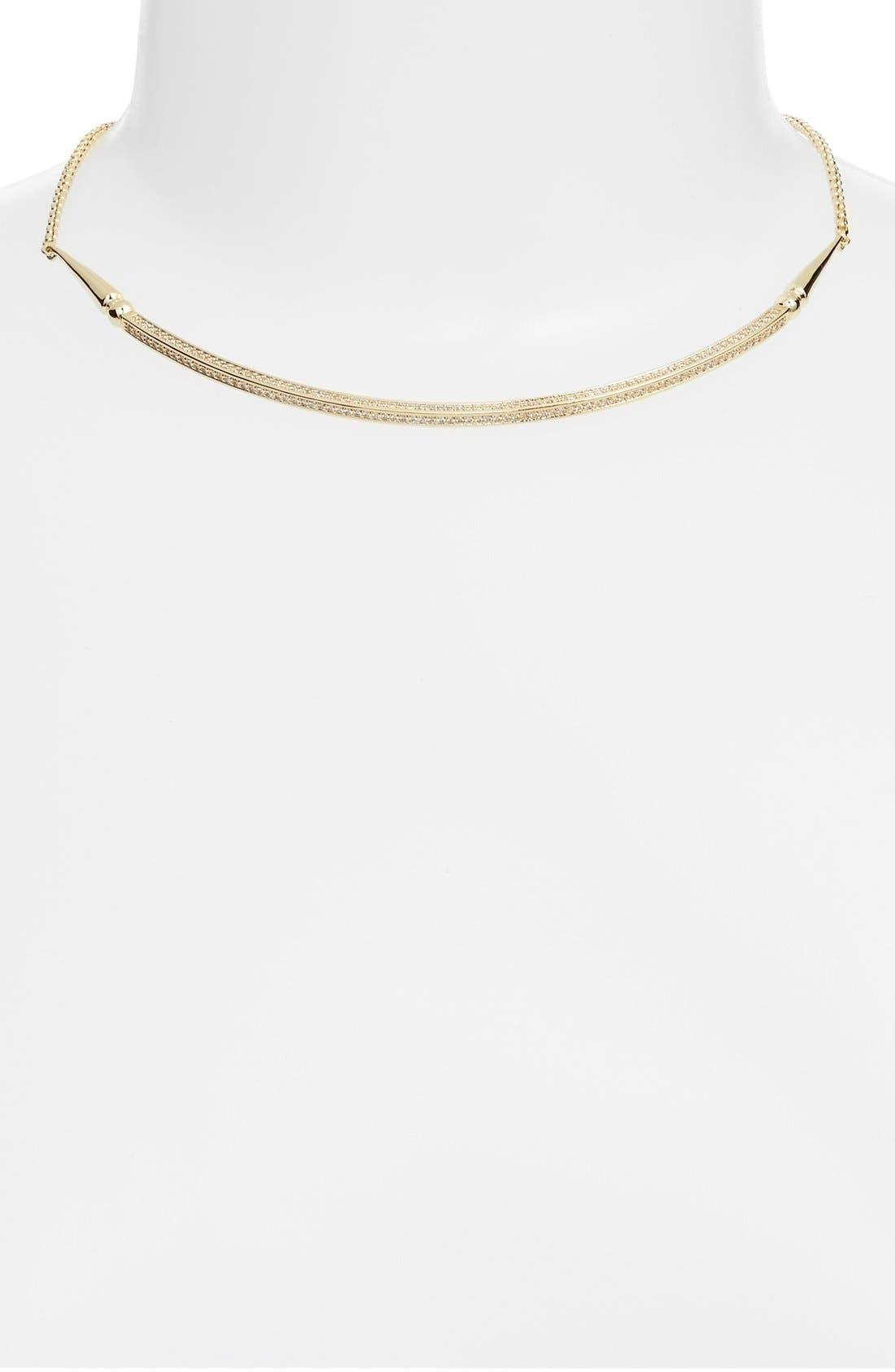 'Scottie' Pendant Necklace,                             Alternate thumbnail 2, color,                             Gold