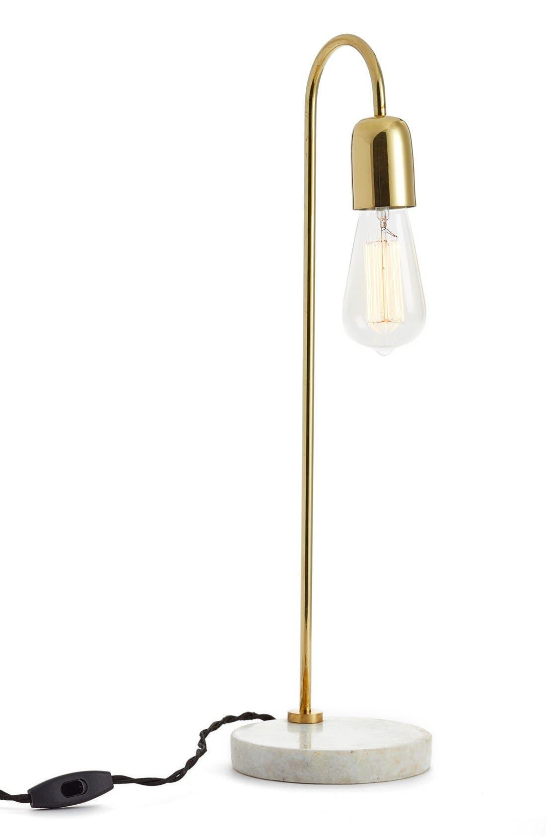 Alternate Image 1 Selected - Bloomingville Marble & Metal Table Lamp