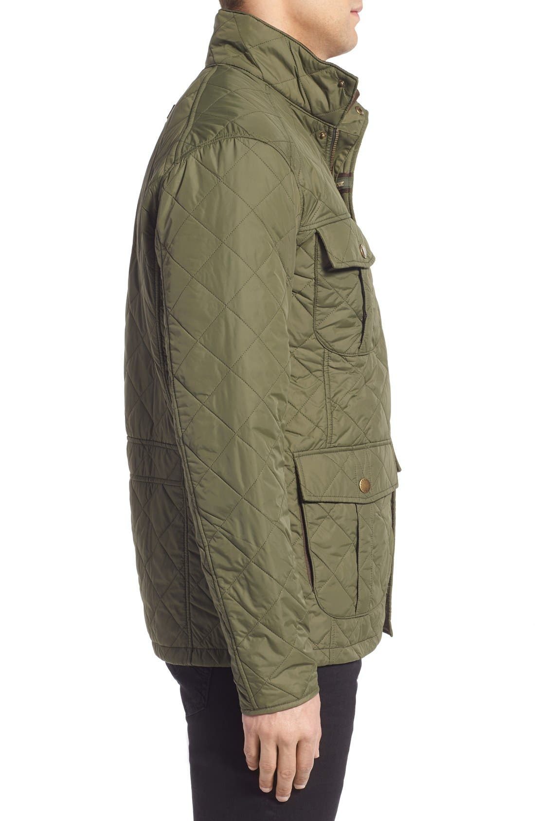 Alternate Image 3  - Barbour 'Explorer' Water-Resistant Quilted Utility Jacket