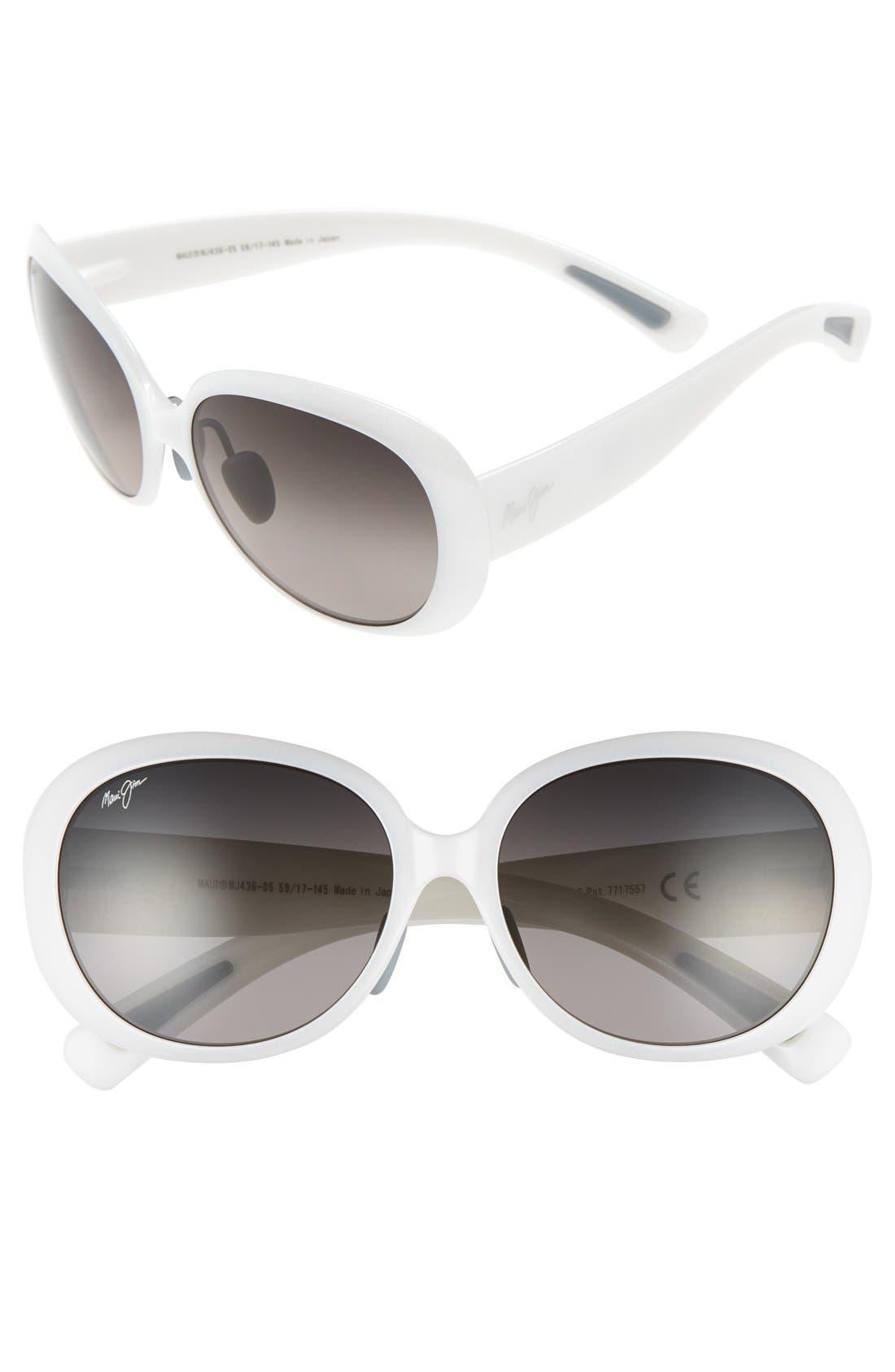 MAUI JIM Nahiku 59mm PolarizedPlus2<sup>®</sup> Sunglasses