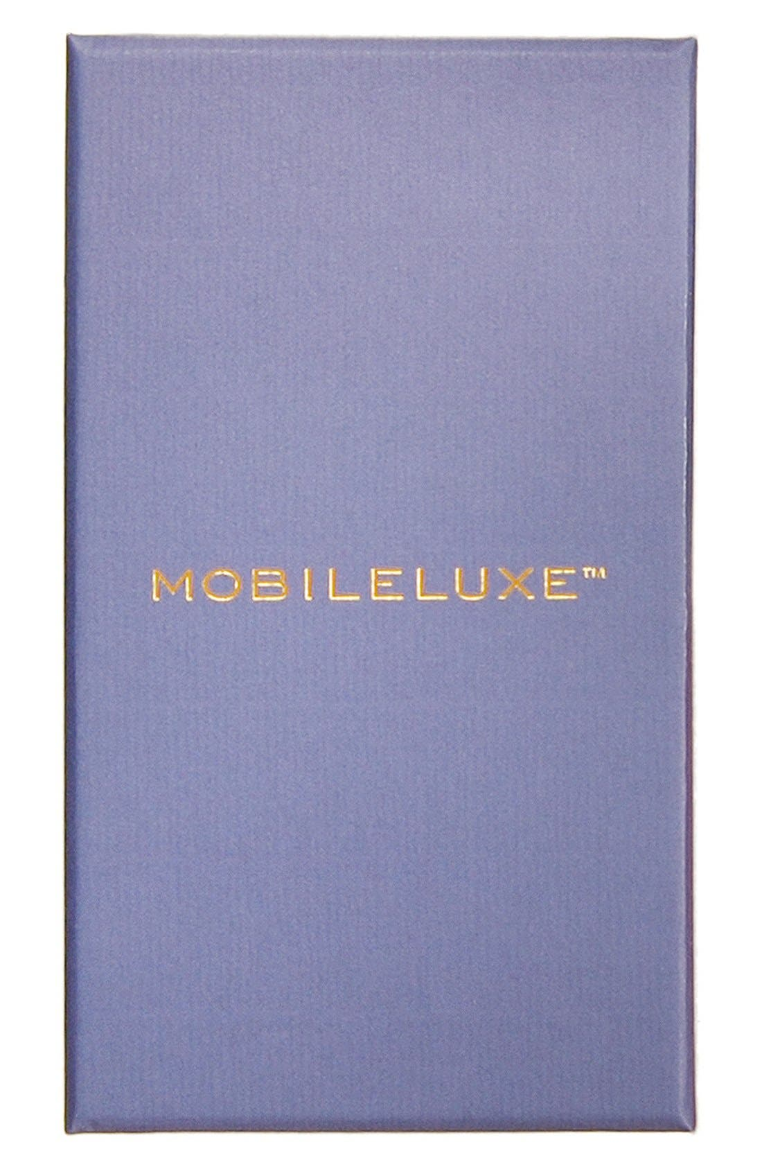 Alternate Image 5  - Mobileluxe iPhone 6/6s Metallic Leather Wallet Case