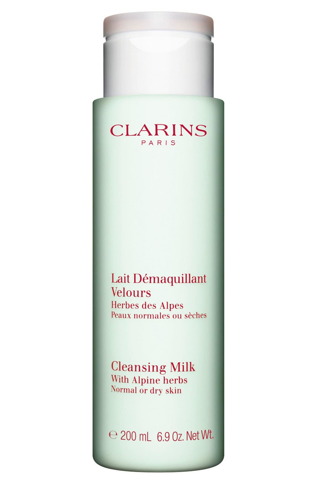 Clarins Cleansing Milk with Alpine Herbs for Normal/Dry Skin