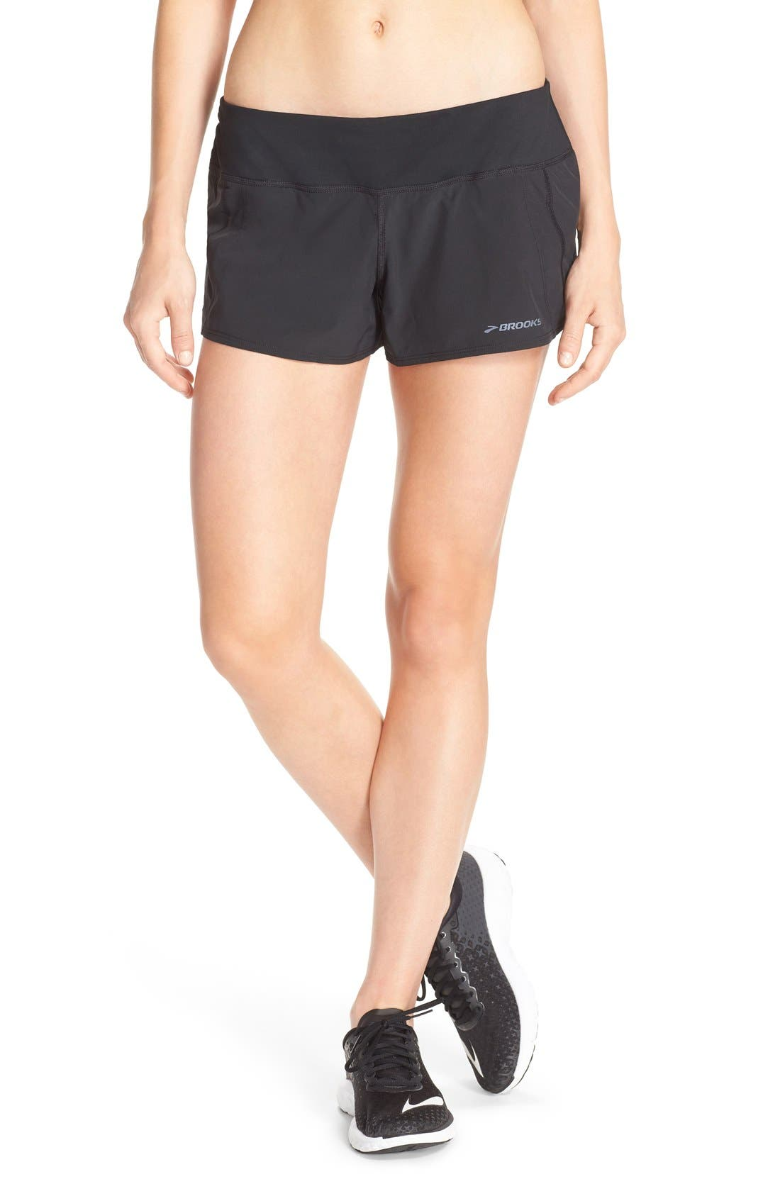 'Chaser 3' Running Shorts,                         Main,                         color, Black