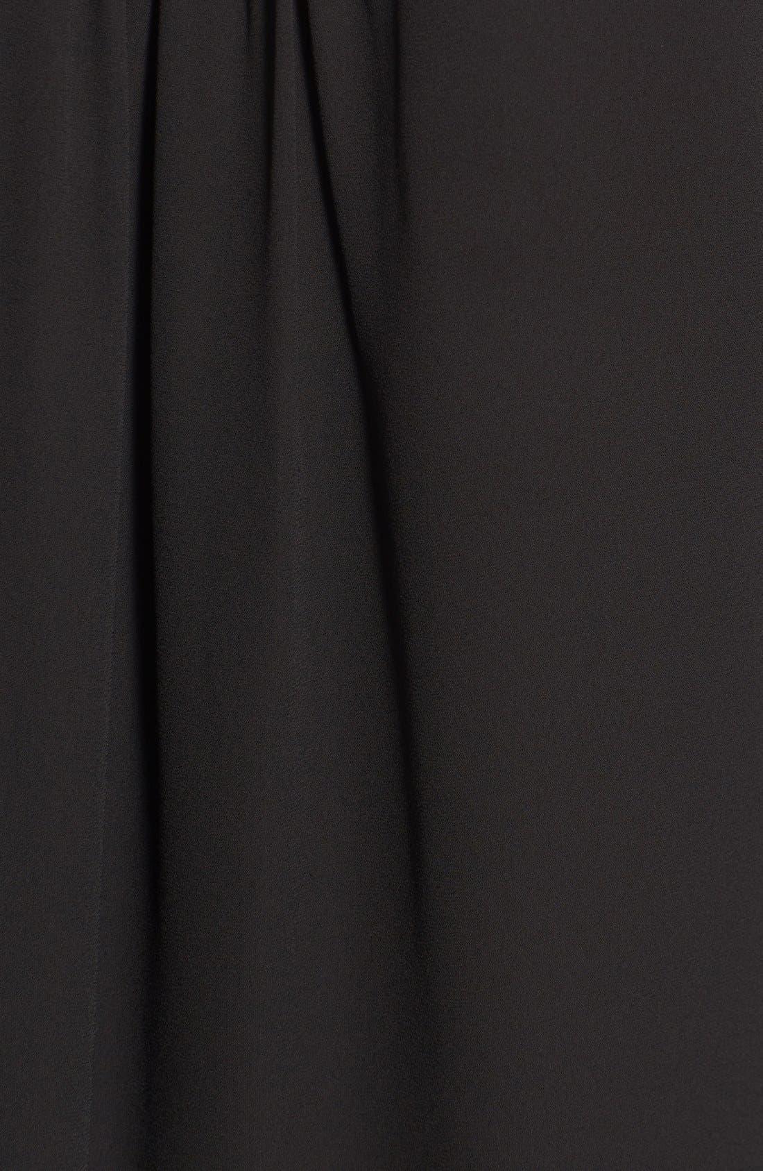 Alternate Image 5  - Karen Kane Asymmetrical Wrap Front Top