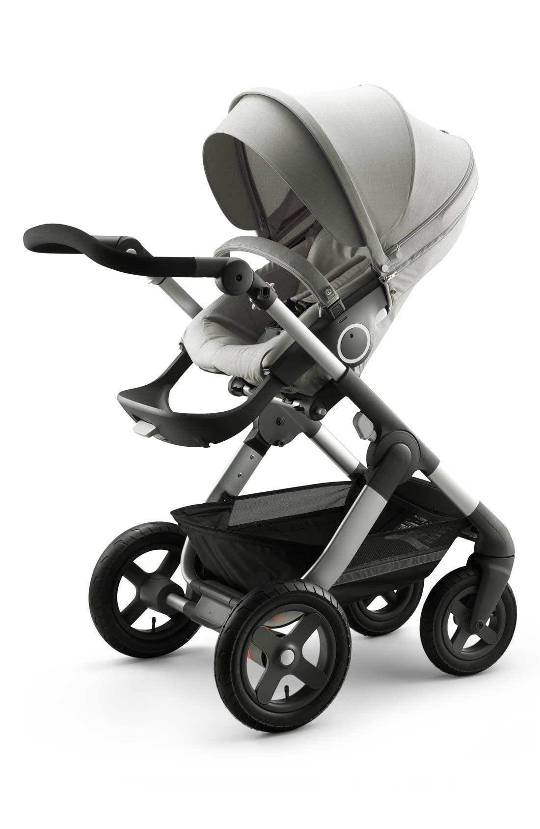 Trailz<sup>™</sup> All Terrain Stroller,                         Main,                         color, Grey Melange