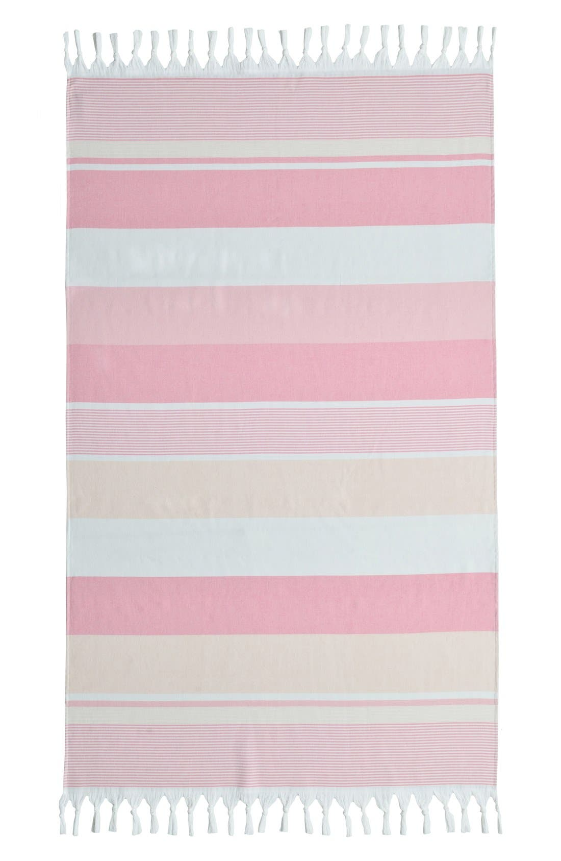 Alternate Image 2  - Linum Home Textiles 'Summer Loving' Turkish Pestemal Towel