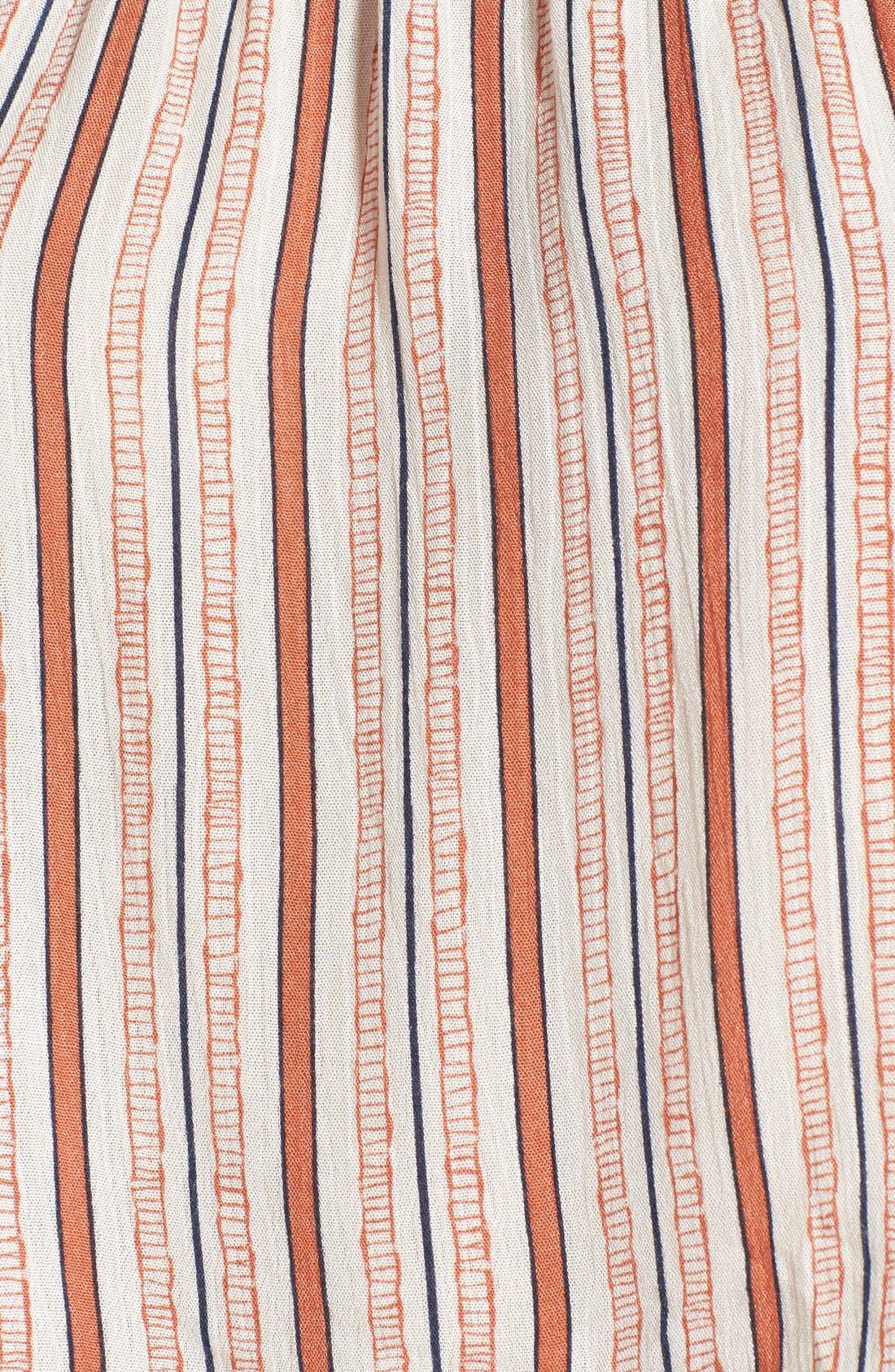 Alternate Image 5  - Ten Sixty Sherman Stripe Off the Shoulder Crop Top