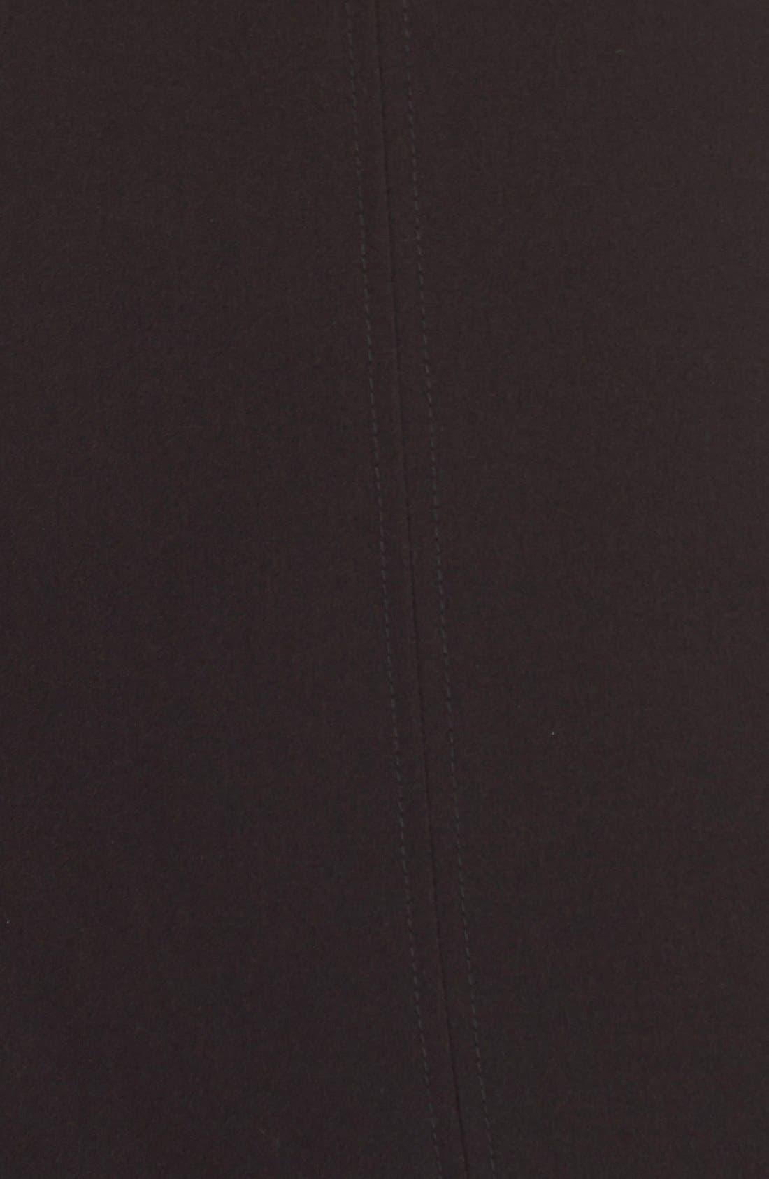 Alternate Image 6  - Tahari Seamed Woven A-Line Dress