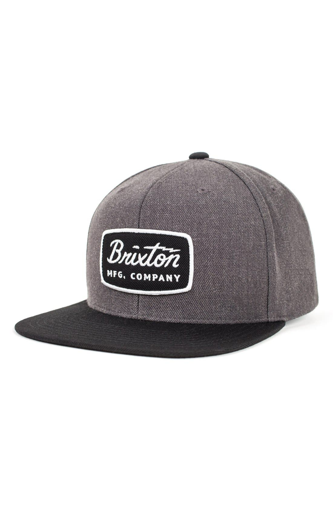 Alternate Image 1 Selected - Brixton 'Jolt' Snapback Cap
