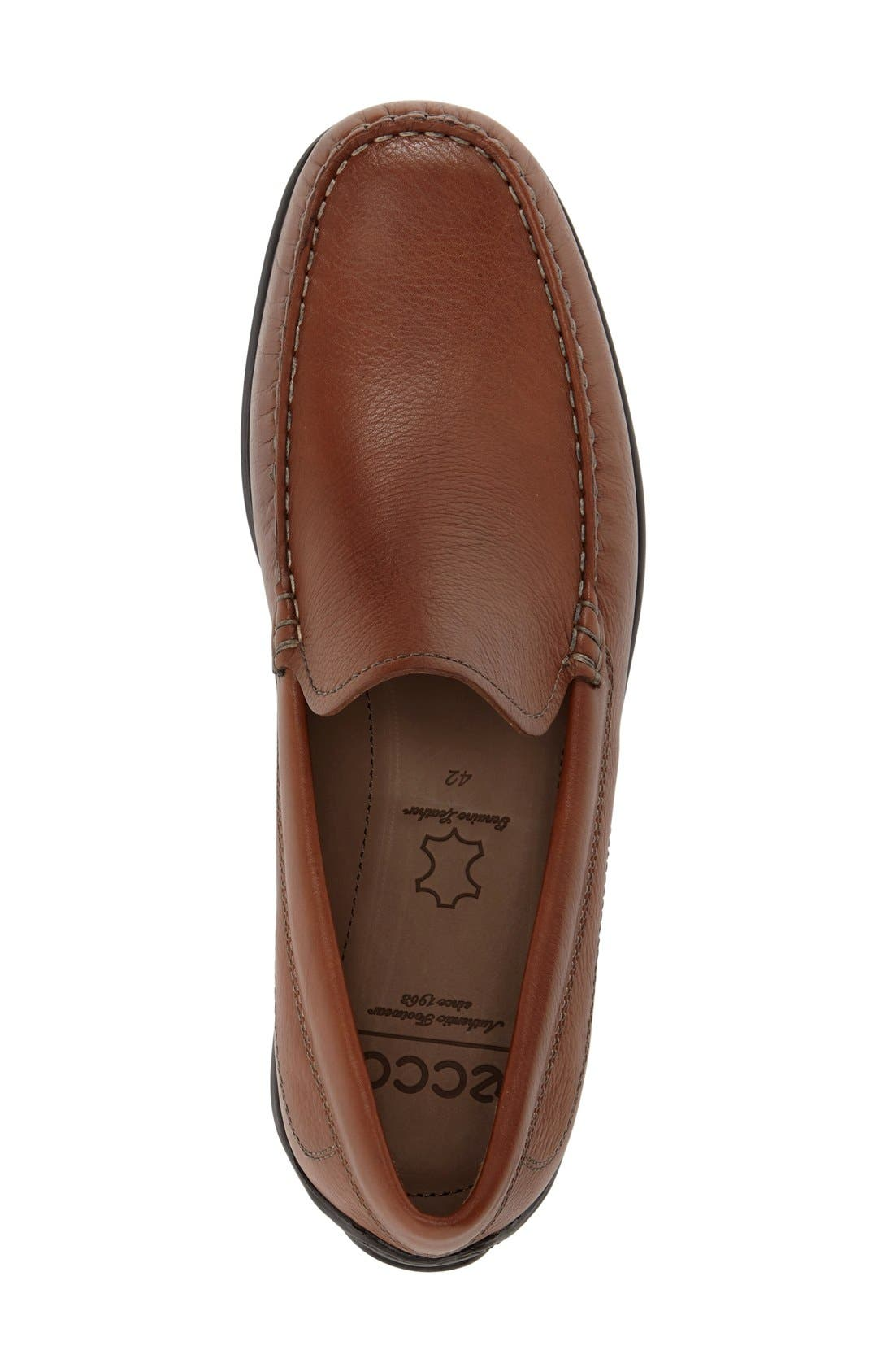 Alternate Image 3  - ECCO 'Classic Moc' Slip-On (Men)