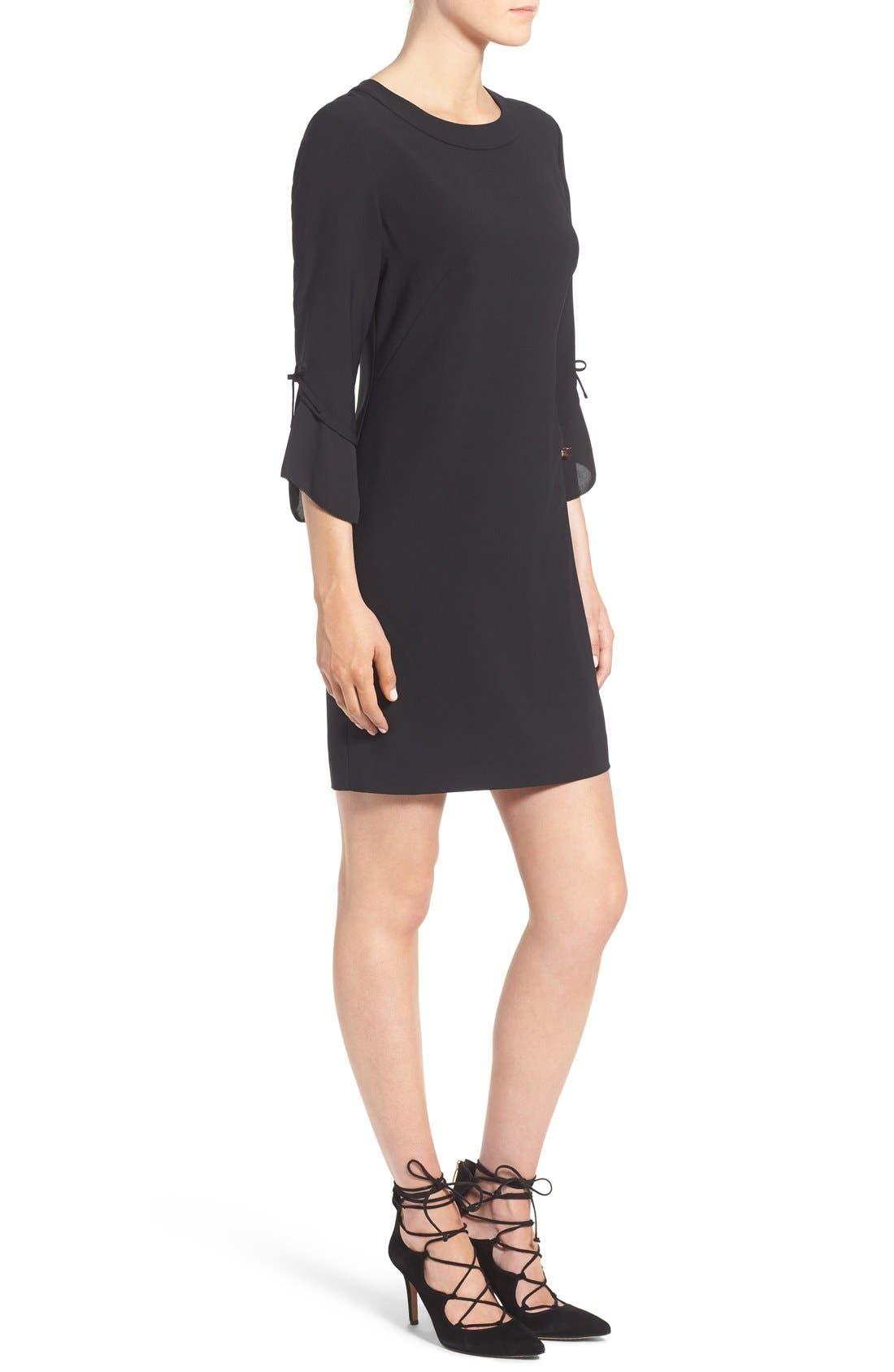 Alternate Image 4  - Chelsea28 Ruffle Sleeve Sheath Dress