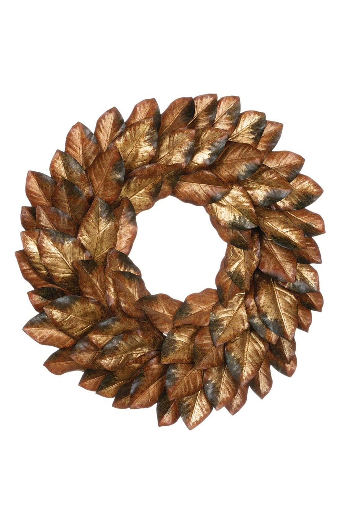 Sullivans Magnolia Leaf Wreath