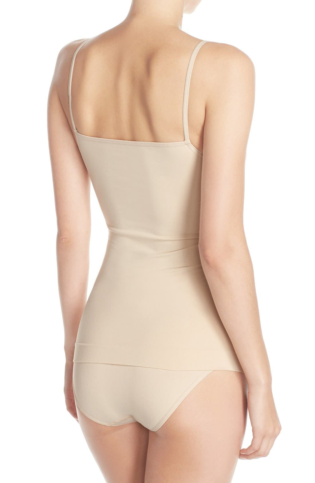Alternate Image 6  - Nordstrom Lingerie Two-Way Seamless Camisole