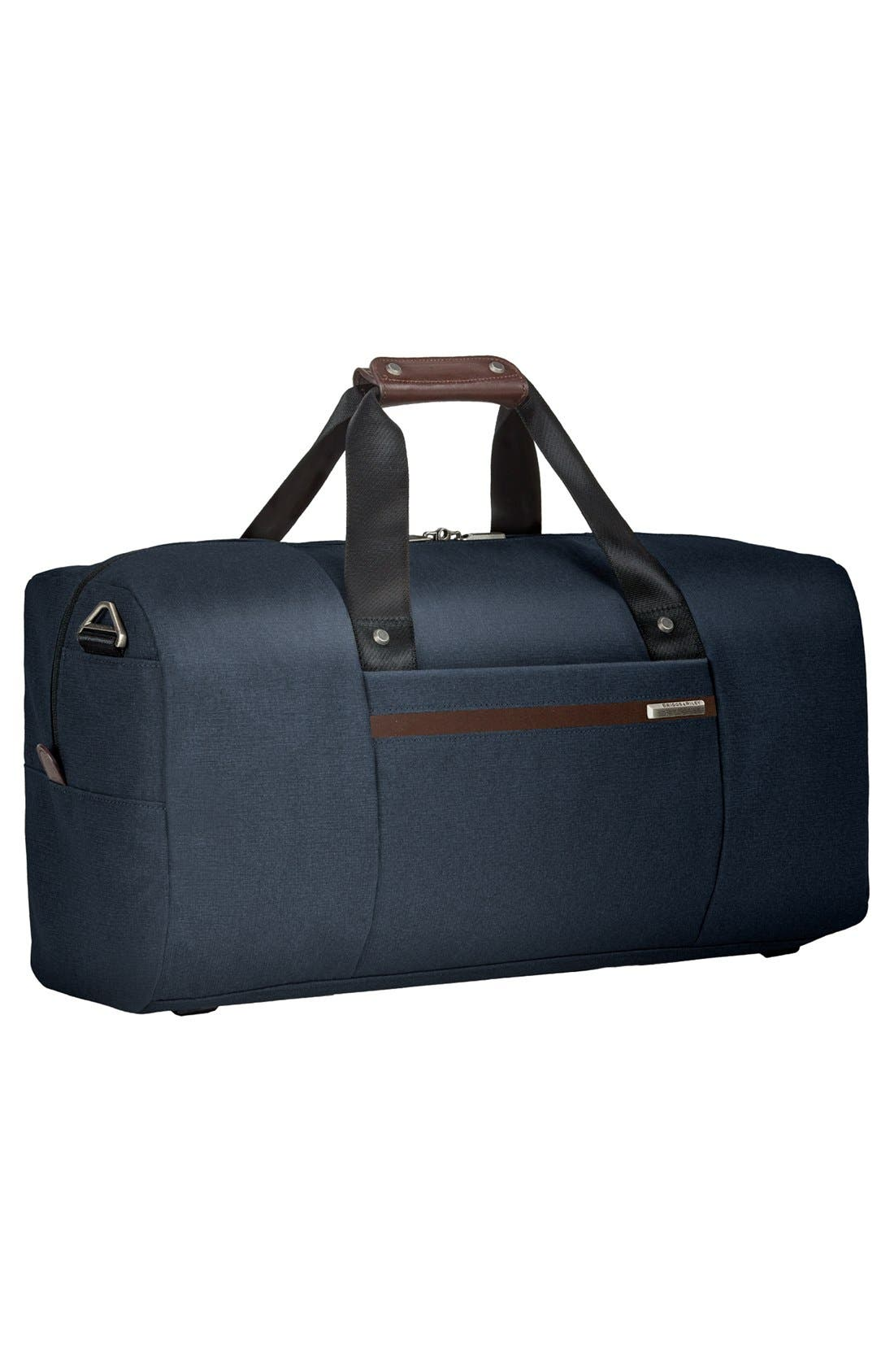Kinzie Street - Simple Duffel Bag,                             Alternate thumbnail 2, color,                             Navy Blue