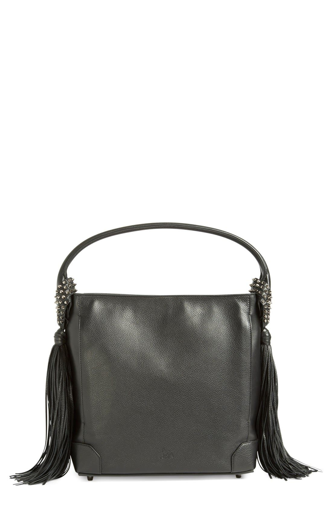 Main Image - Christian Louboutin 'Eloise Empire' Studded Calfskin Leather  Hobo