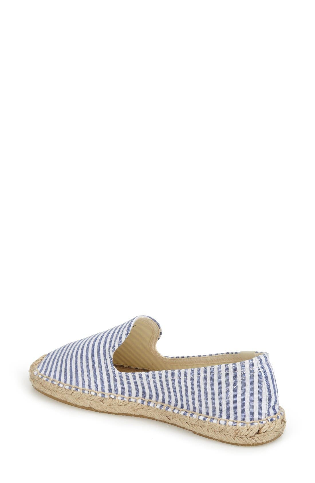 Alternate Image 2  - Soludos Smoking Slipper Espadrille (Women)