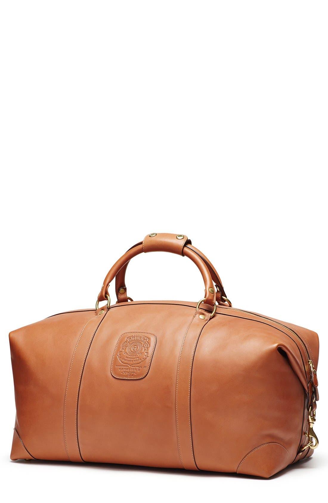 Ghurka Cavalier II Leather Duffel Bag