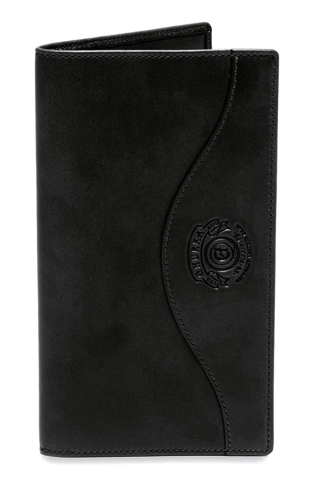 Ghurka Leather Breast Pocket Wallet