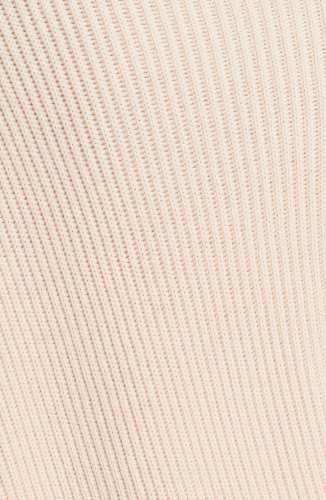 Alternate Image 3  - Stella McCartney Asymmetrical Wool Sweater