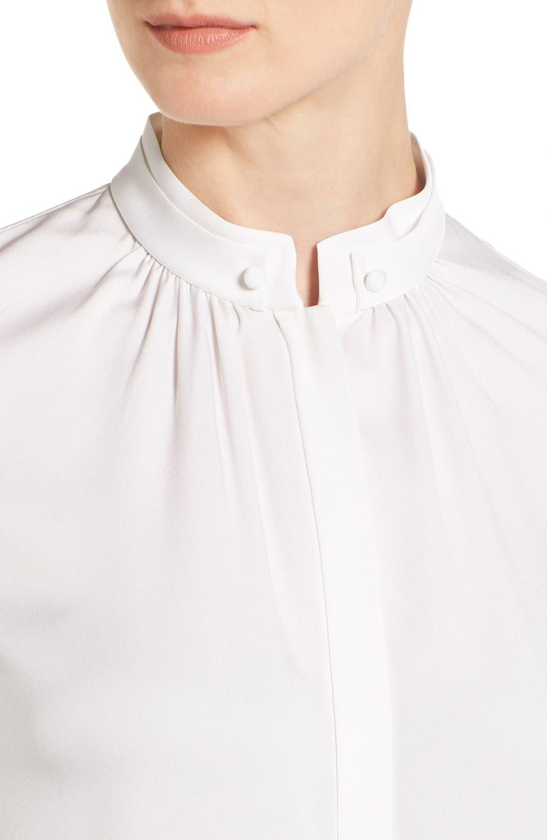 Alternate Image 4  - BOSS 'Blusil' Stretch Silk Blouse