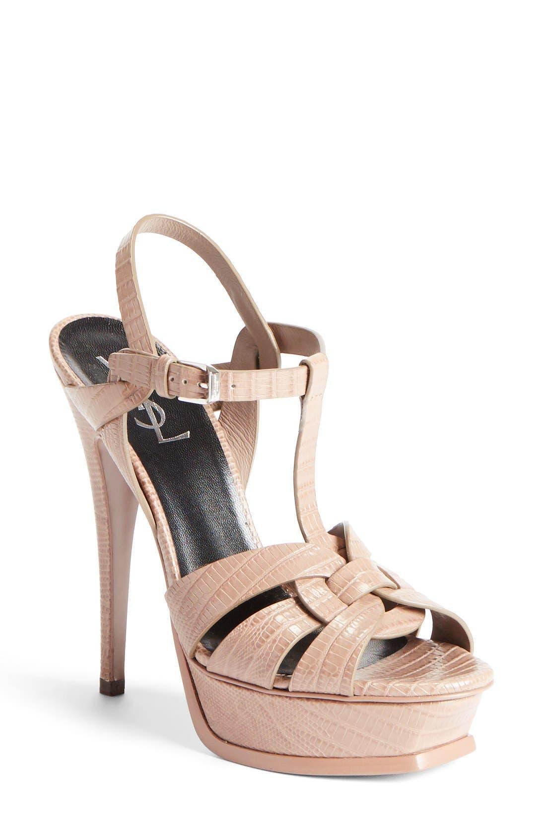 Main Image - Saint Laurent 'Tribute' Sandal (Women)