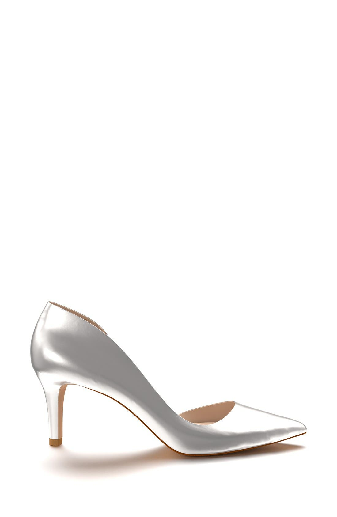 Alternate Image 4  - Shoes of Prey Half d'Orsay Pump (Women)