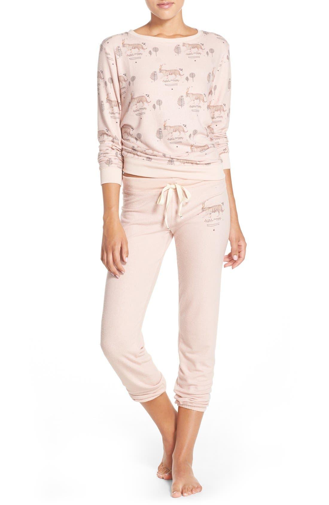 Alternate Image 6  - All Things Fabulous Tiger Print Sweatshirt